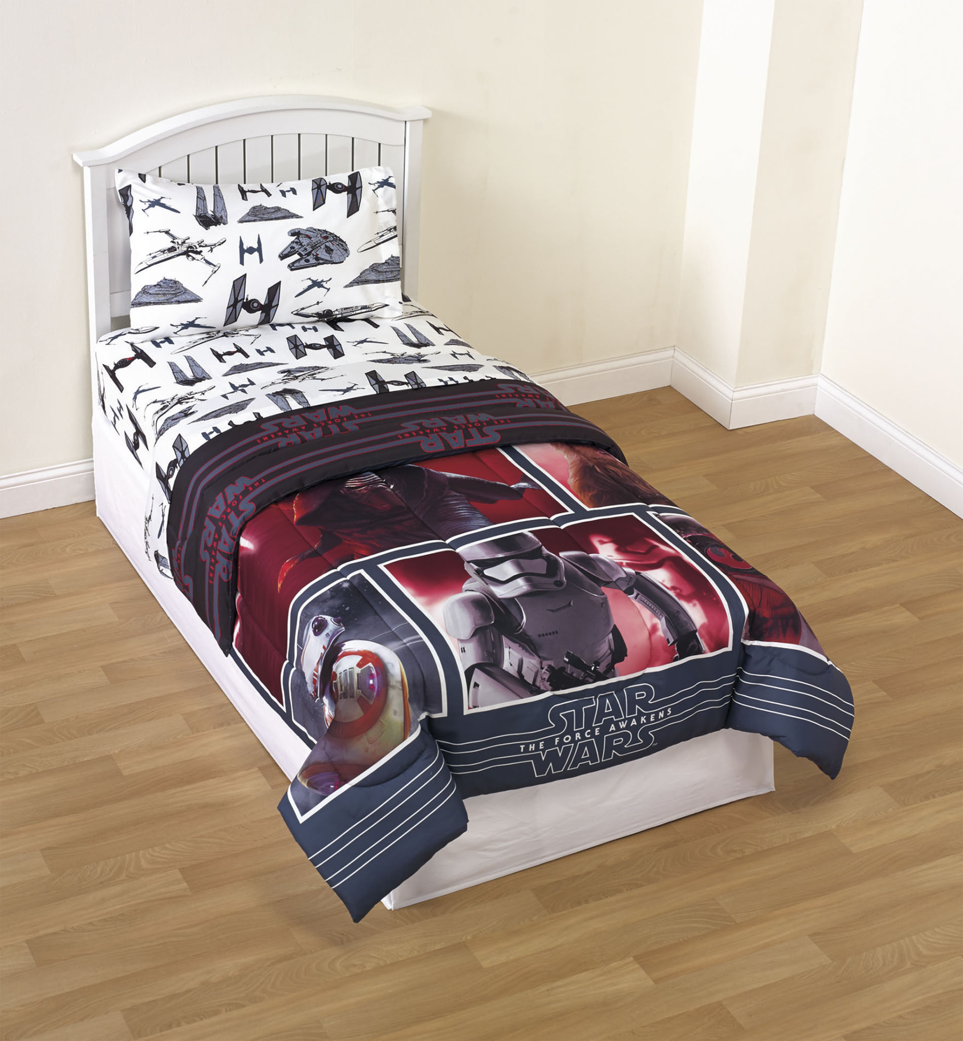 Star Wars Force Awakens Reversible Comforter - Home Bed & Bath Bedding Comforters