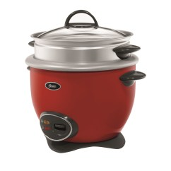 Kyowa Rice Cooker Wiring Diagram Of Diabetes Type 2 Oster 4010383 14 Cup Cooked With Steam Tray Red