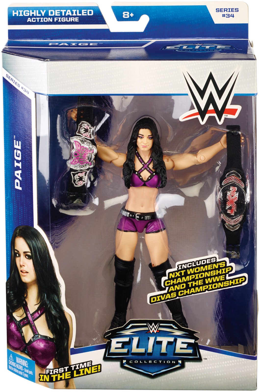WWE Paige Elite 34 Toy Wrestling Action Figure