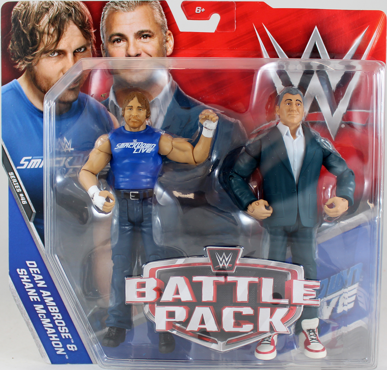WWE Shane McMahon Amp Dean Ambrose Battle Packs 46 Toy