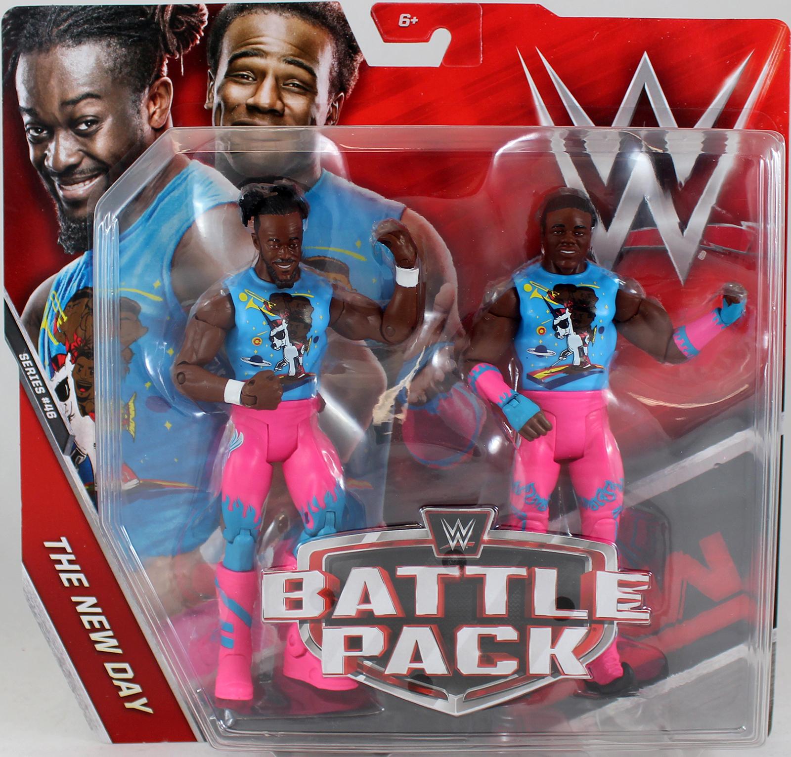 WWE Xavier Woods Amp Kofi Kingston The New Day Battle