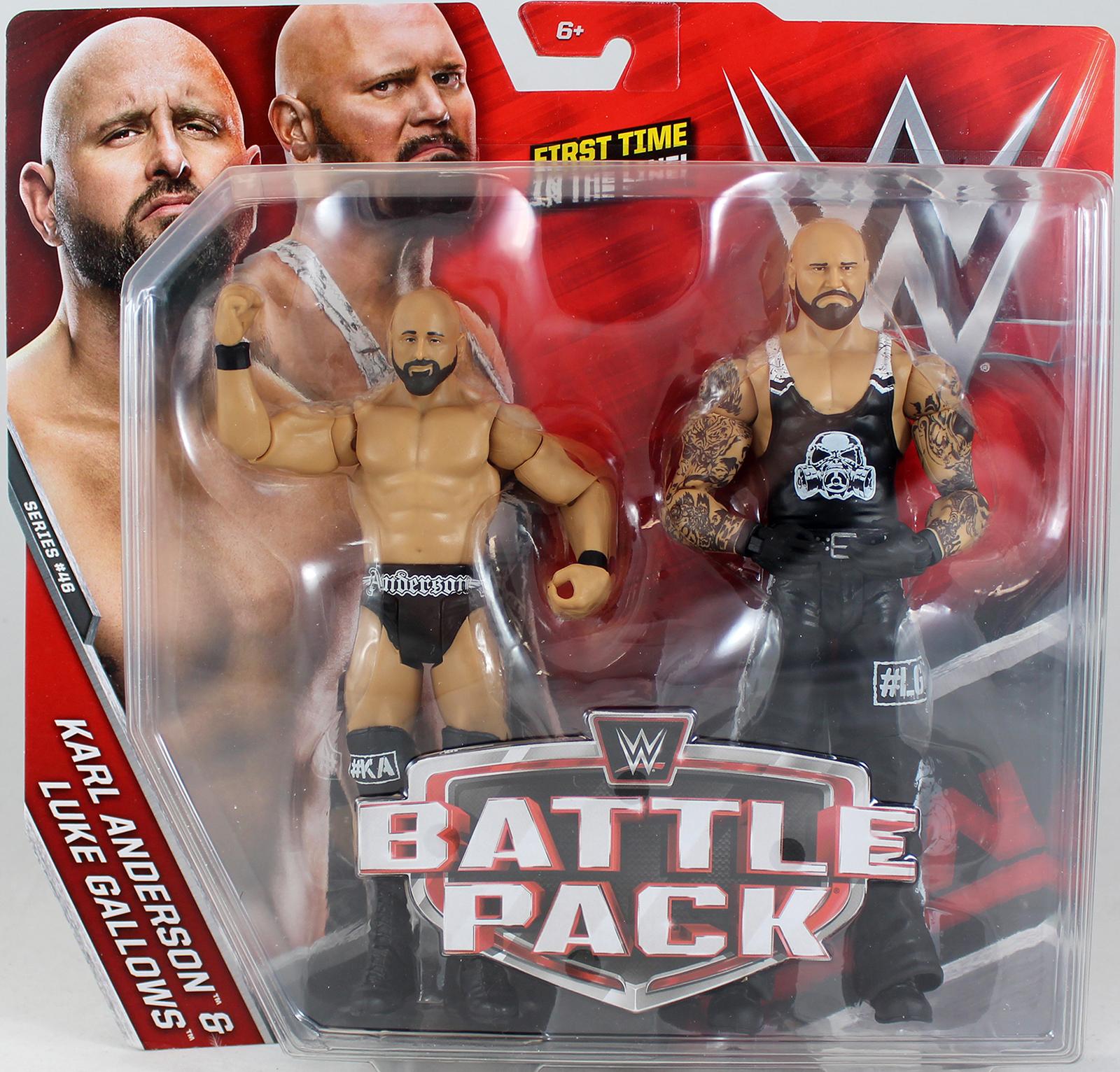 WWE Luke Gallows Amp Karl Anderson Battle Packs 46 Toy