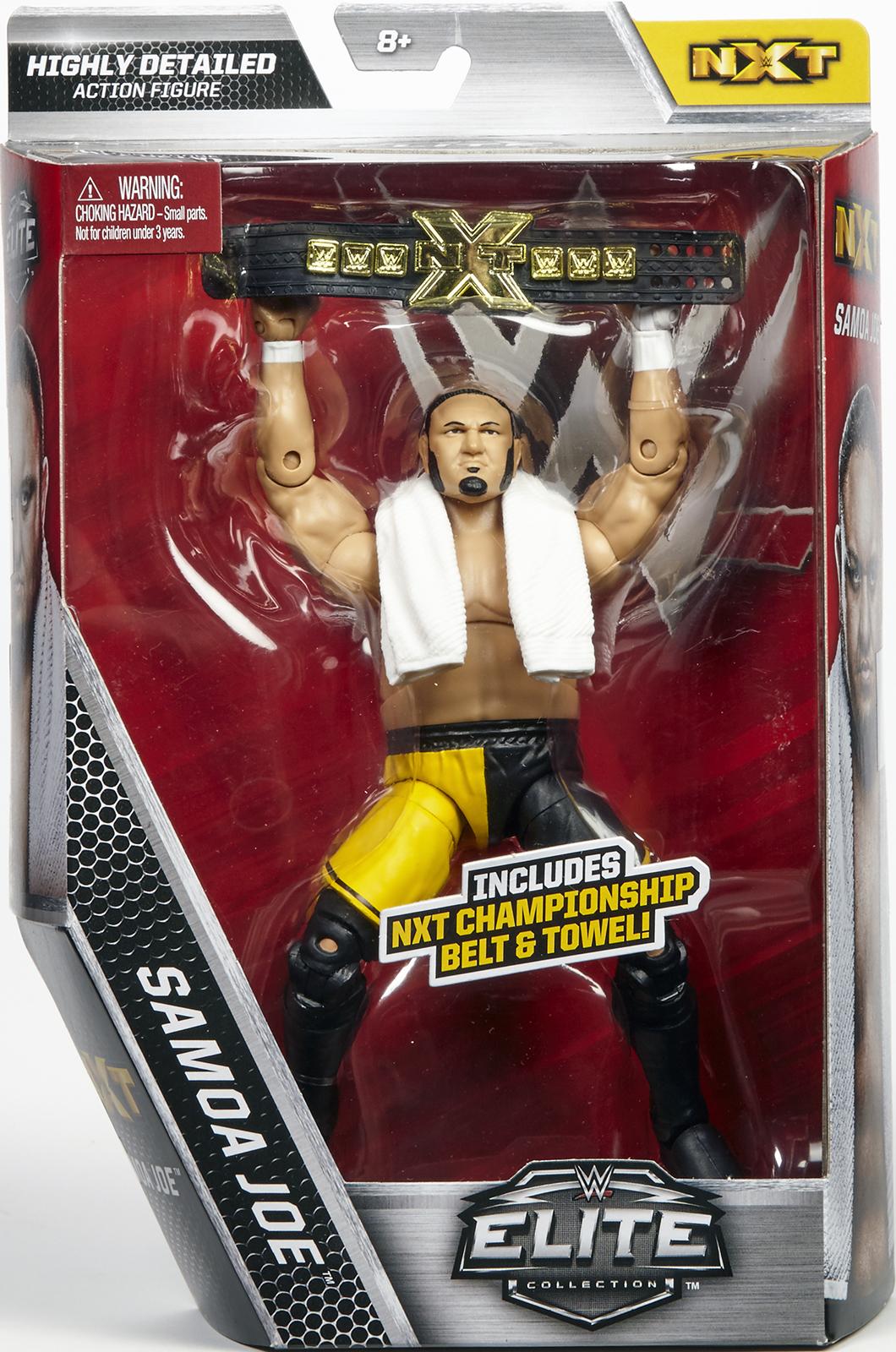 WWE The Destroyer Samoa Joe  NXT Elite Exclusive Toy