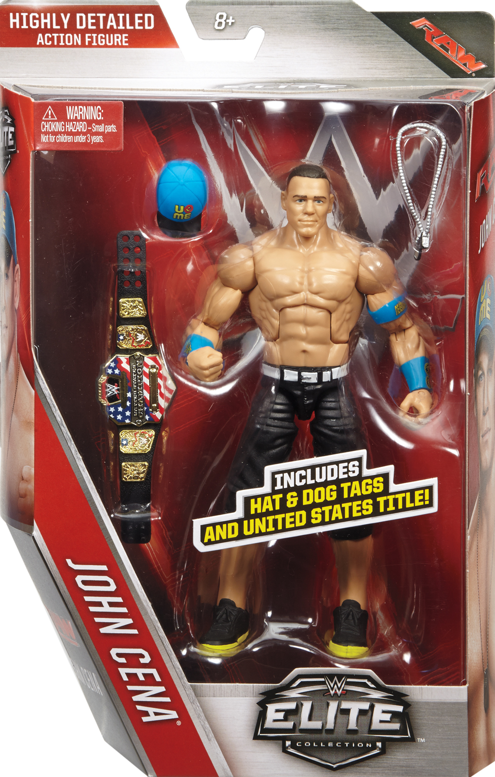 WWE John Cena Elite 40 Toy Wrestling Action Figure