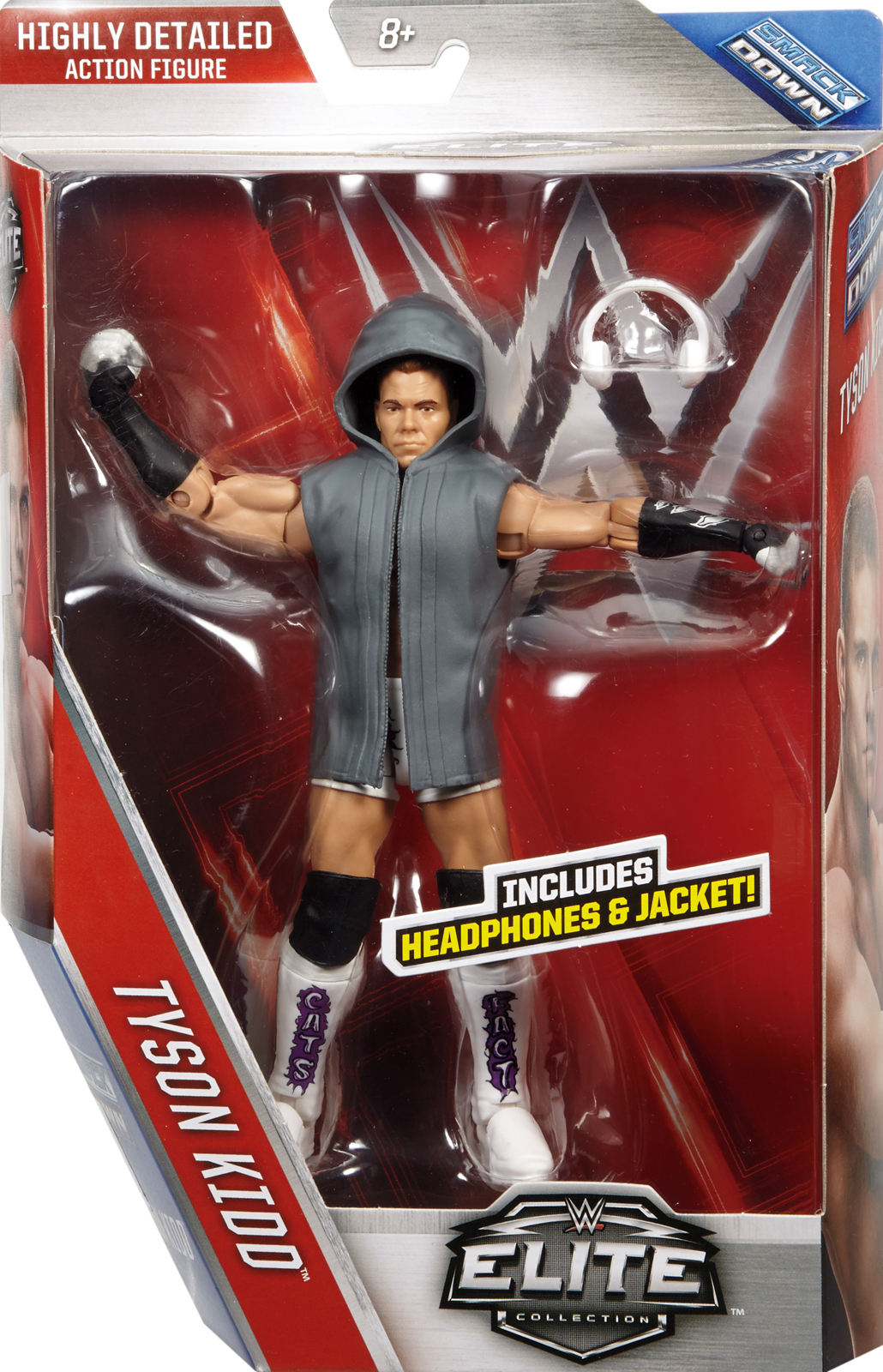 WWE Tyson Kidd Elite 40 Toy Wrestling Action Figure