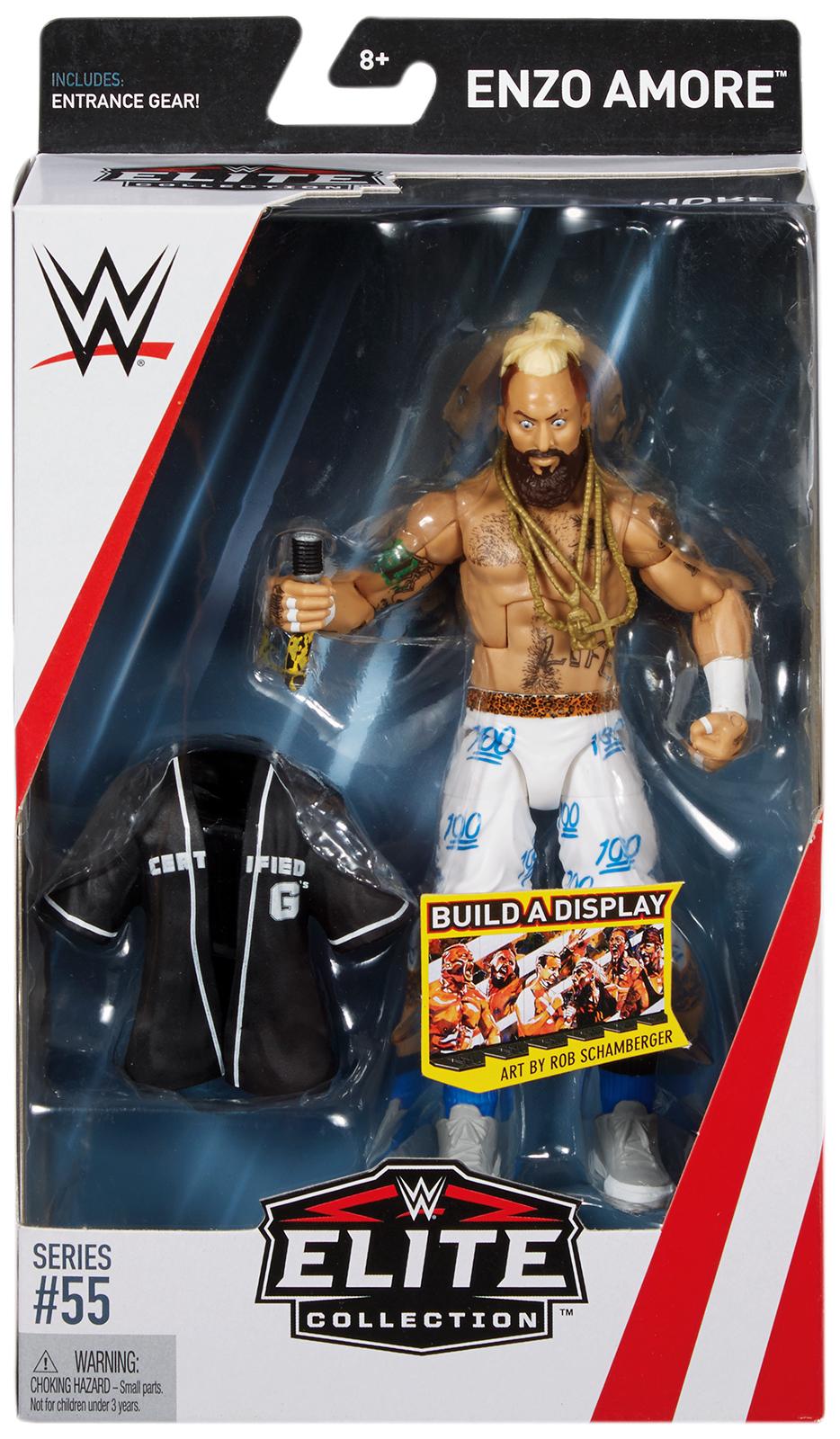 WWE Enzo Amore Elite 55 Toy Wrestling Action Figure