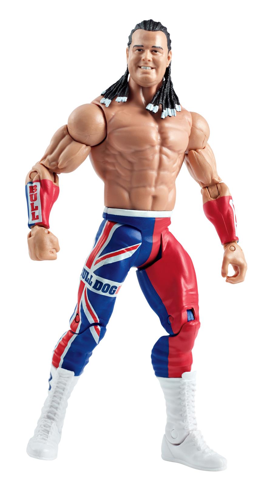 WWE British Bulldog SummerSlam 2016 Series Toy Wrestling