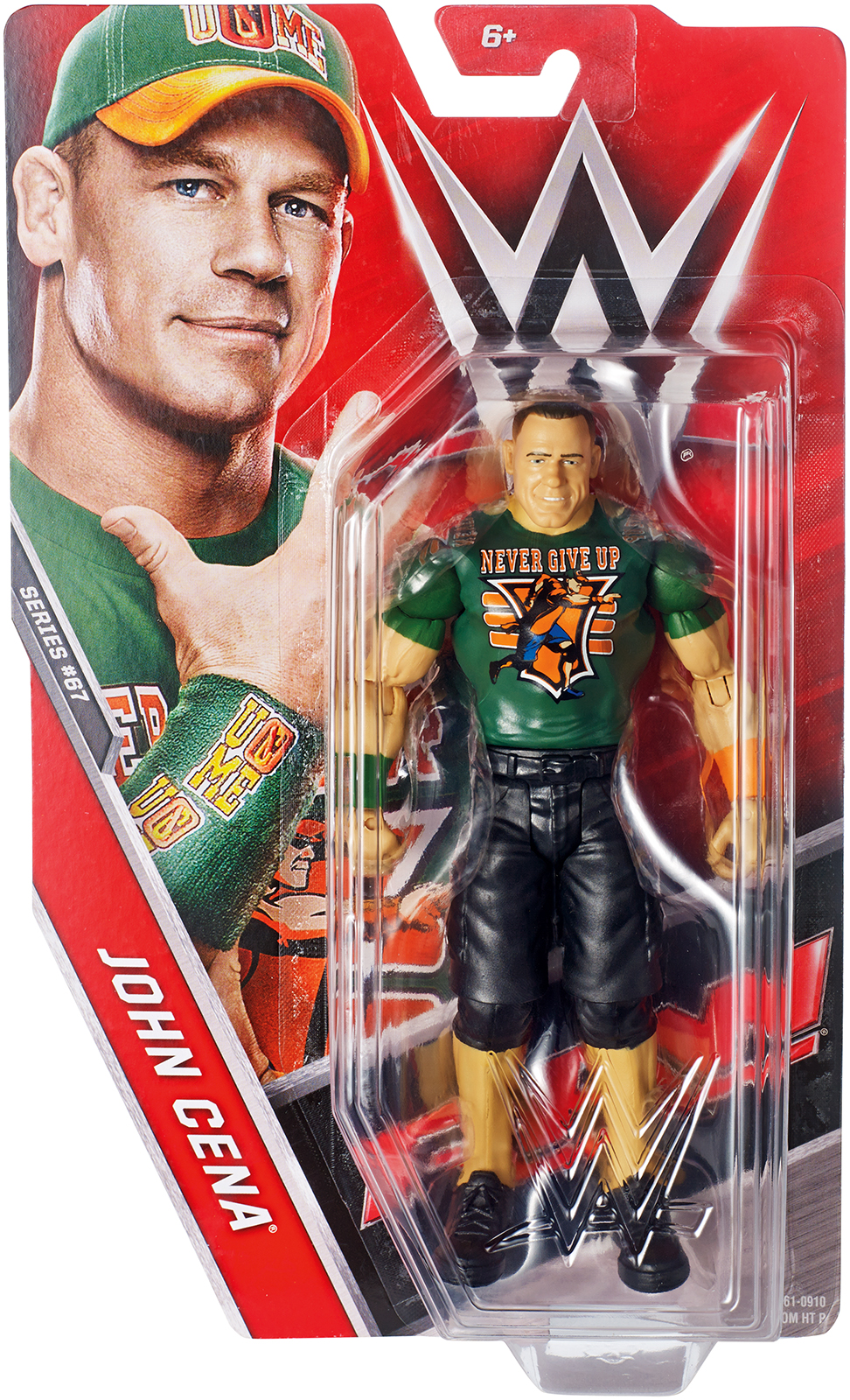 WWE John Cena Series 67 Toy Wrestling Action Figure