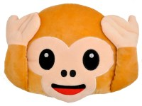Emoji Pillow  Monkey