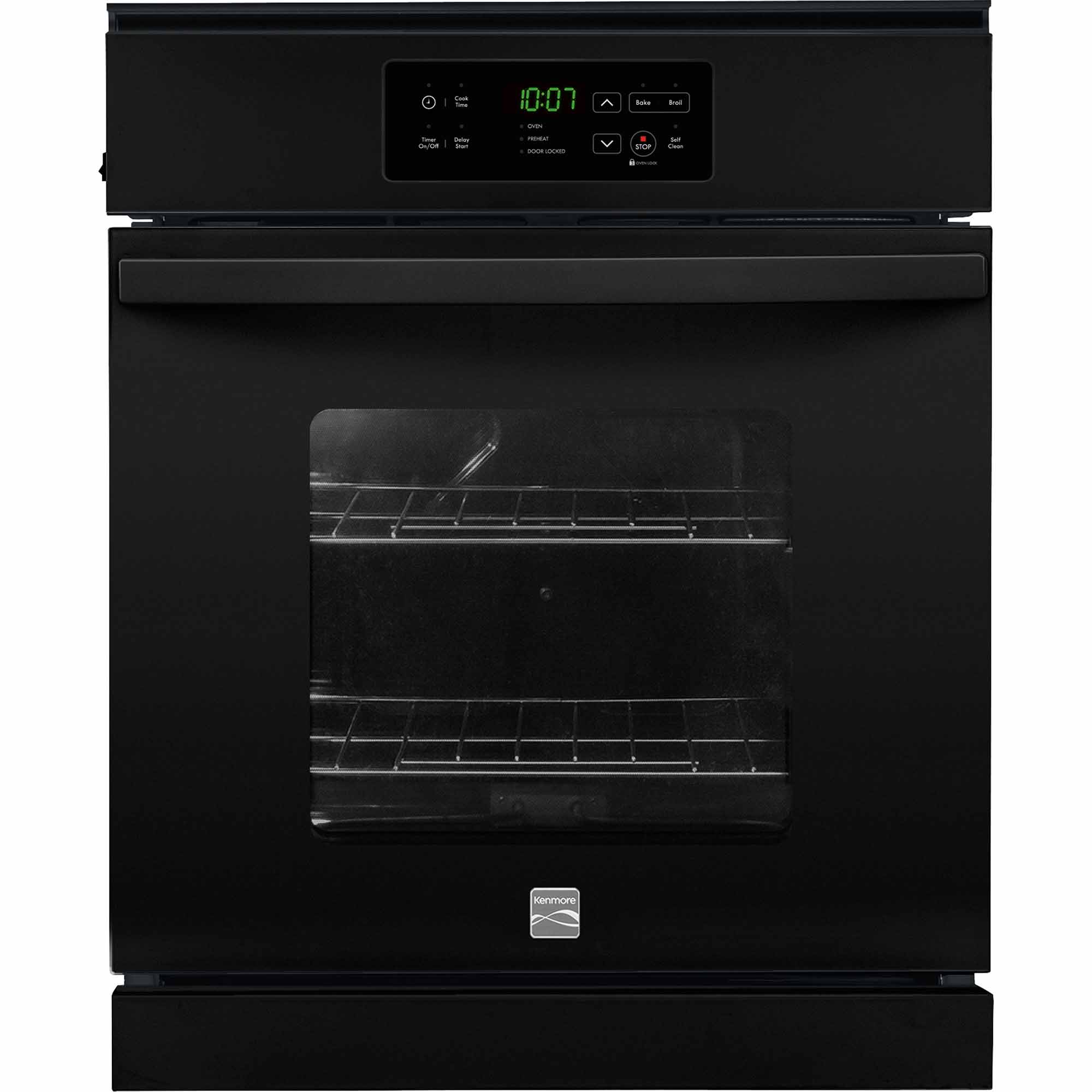 Kenmore 40289 33 cu ft Electric Wall Oven  Black