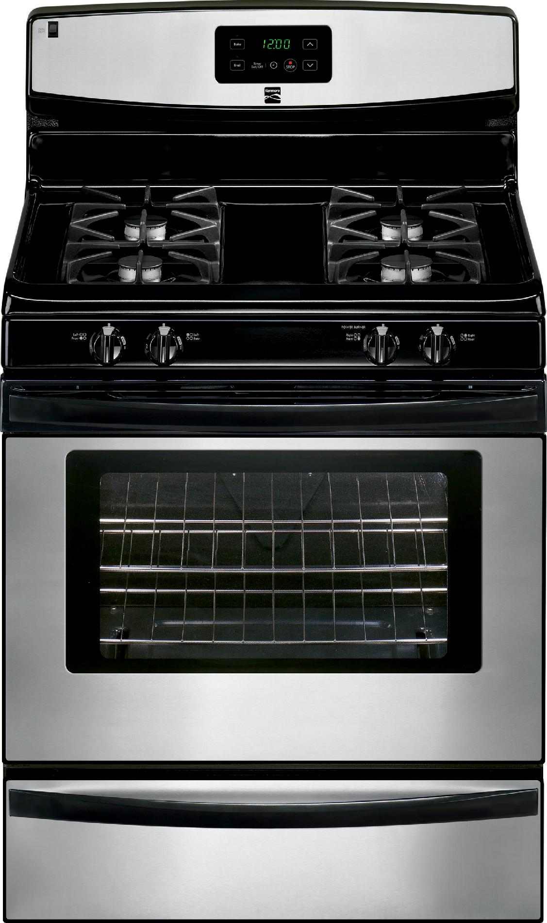 Kenmore 73233 42 cu ft Gas Range with Broil  Serve