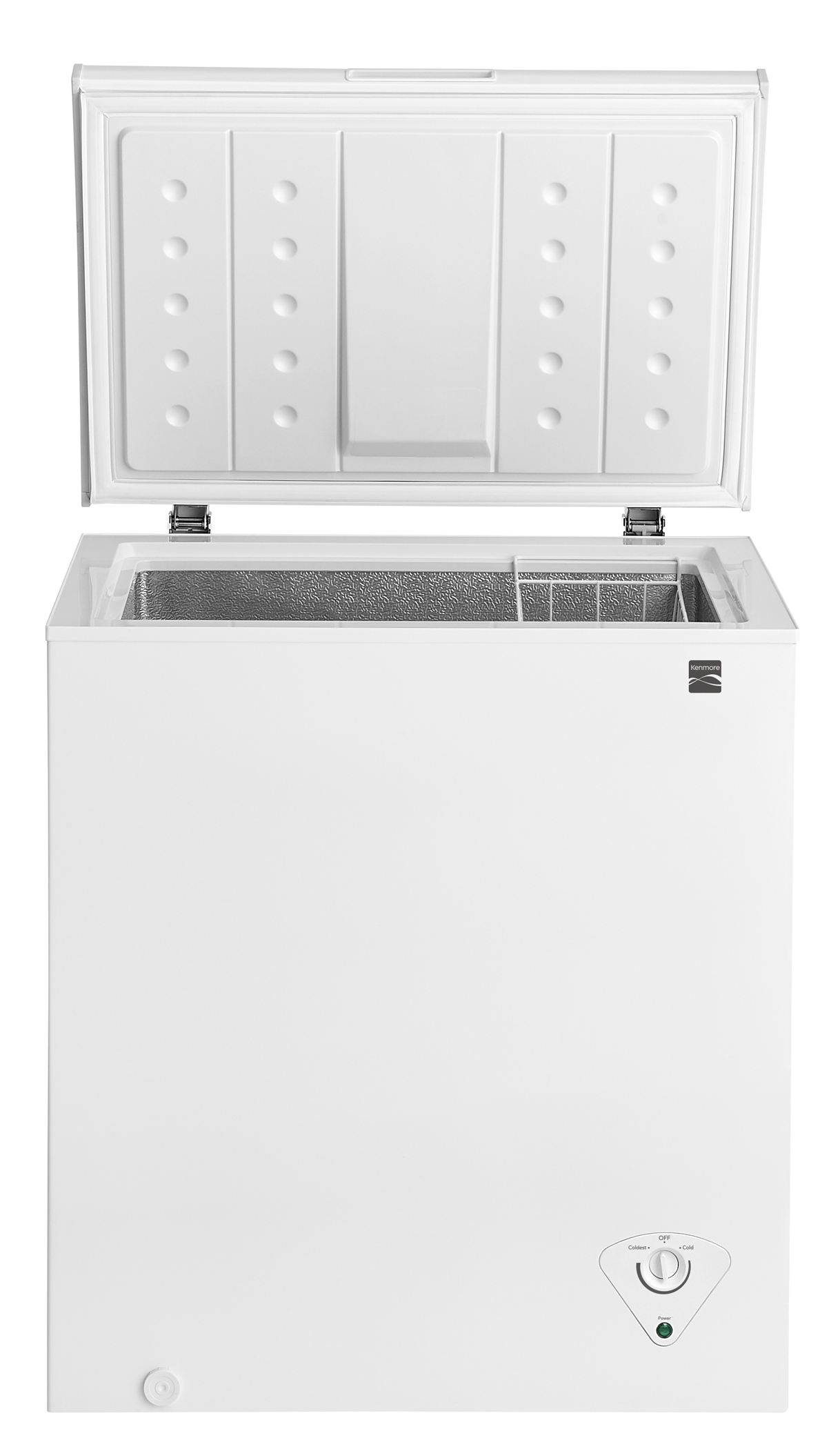 medium resolution of kenmore 17502 5 0 cu ft chest freezer white