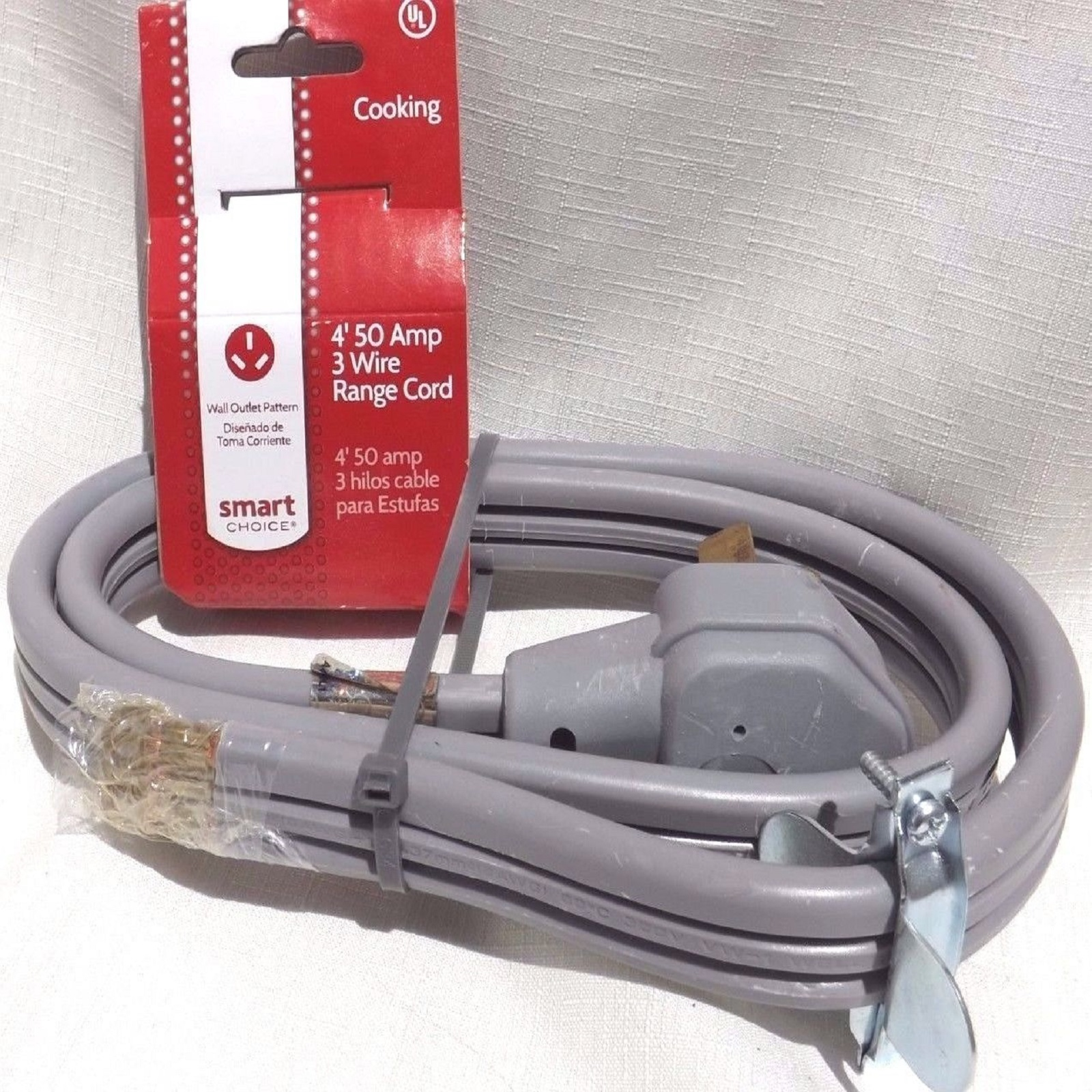 medium resolution of electricord 49614 3 wire 4 ft electric range cord sears outlet electricord 49624 4 wire 4 ft electric range cord sears outlet