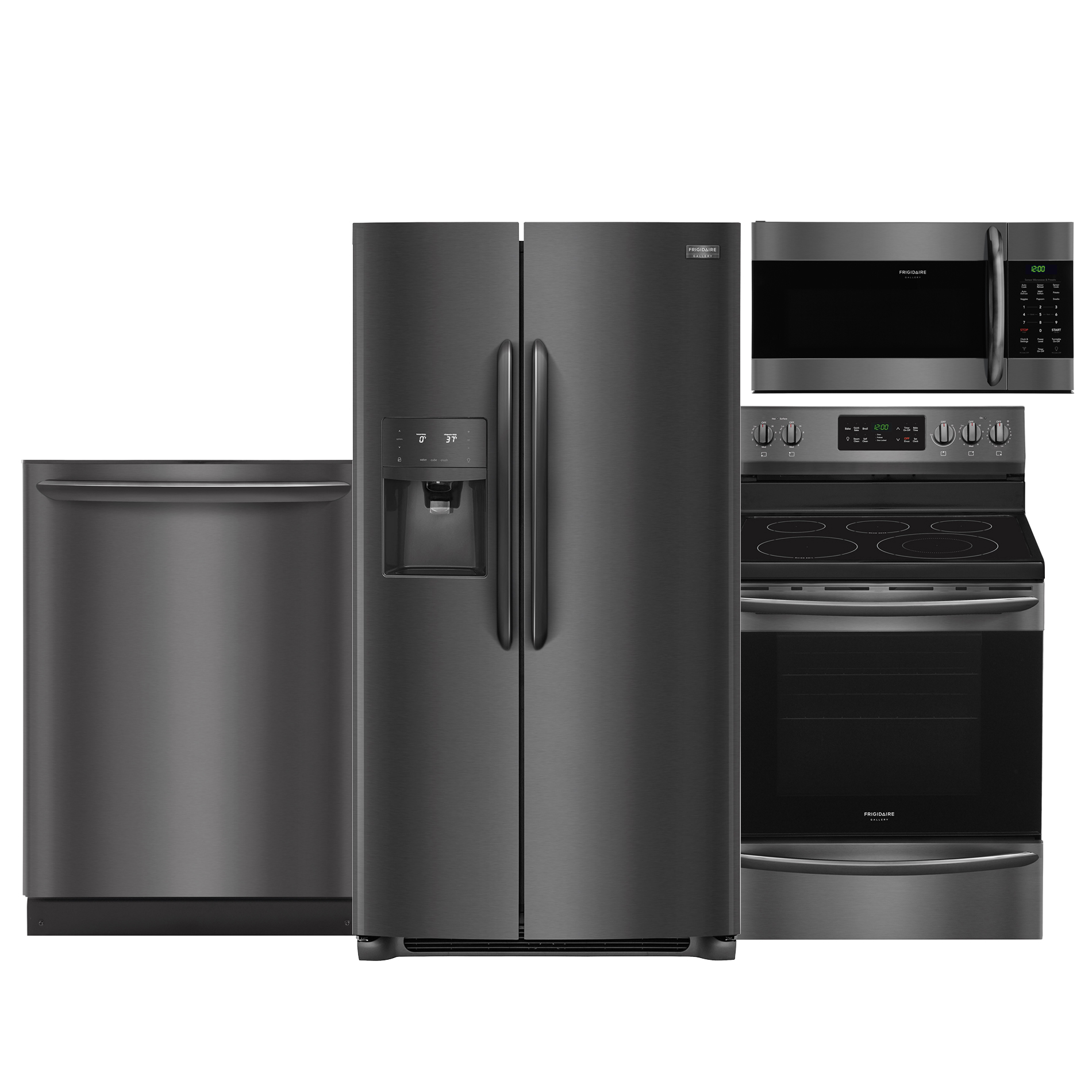 4 piece stainless steel kitchen package laminate or engineered wood flooring for shop appliance packages with sears suites at frigidaire gallery suite black