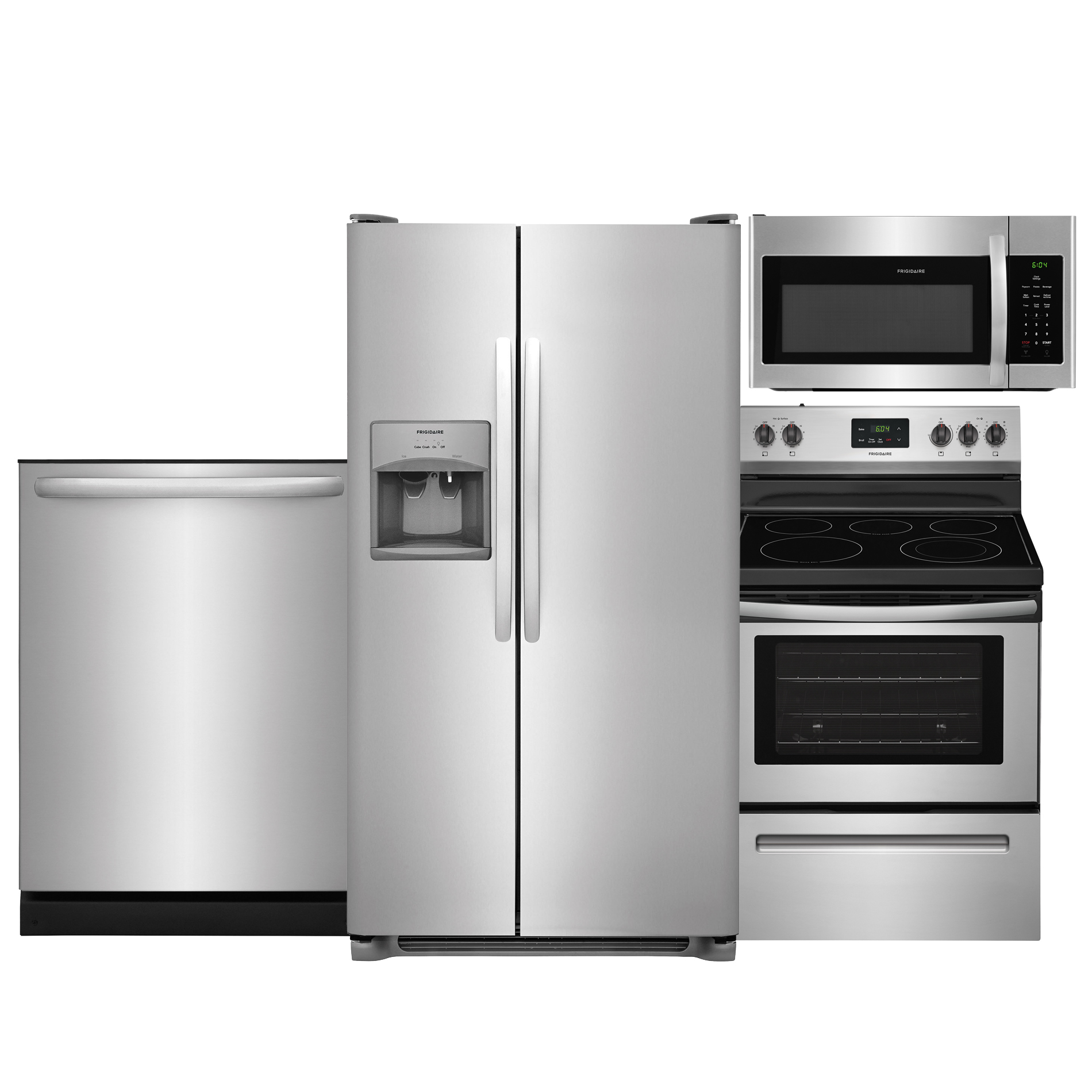 sears kitchen marble floor shop appliance packages with suites at frigidaire 4 piece suite stainless steel
