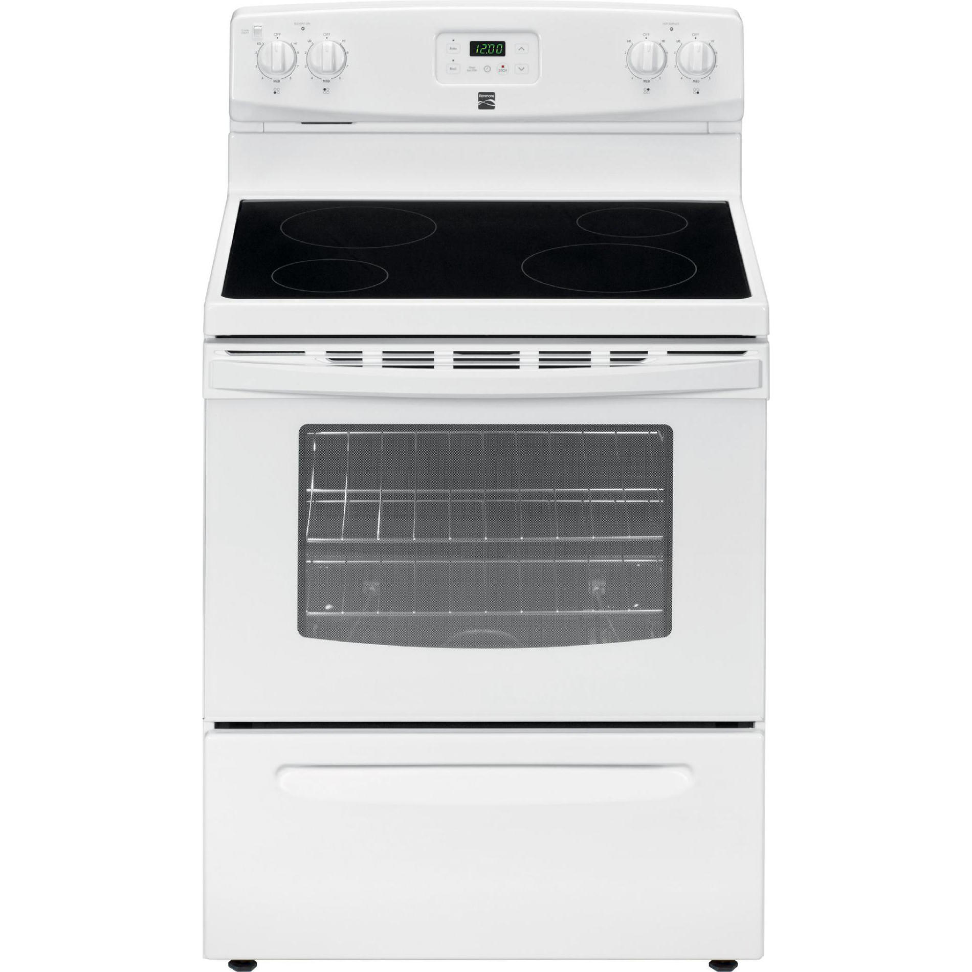 small resolution of electric freestanding range white