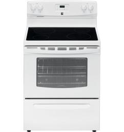 electric freestanding range white [ 1900 x 1900 Pixel ]