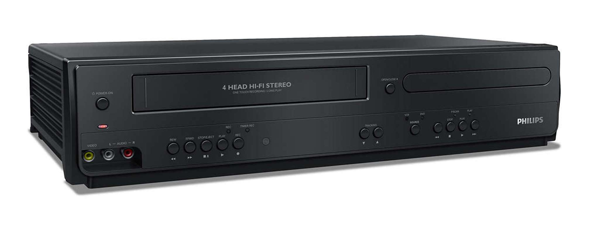 Philips DVD VCR Combo Player