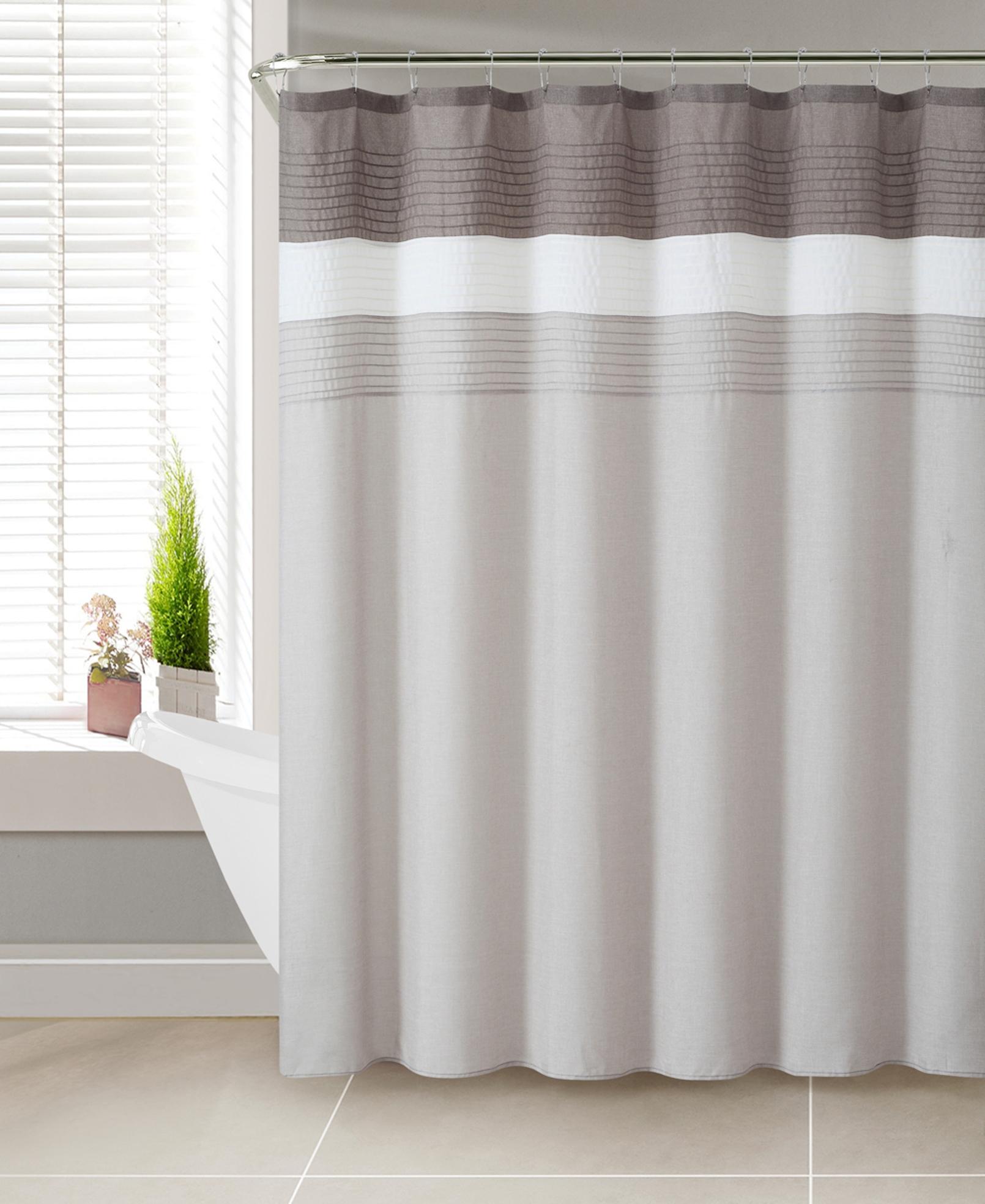 Machine Wash Polyester Shower Curtain  Kmartcom