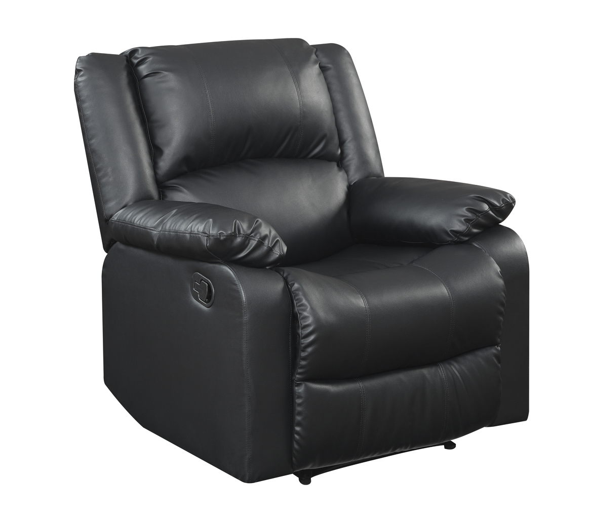 sears recliner chairs second hand chair covers and sashes ra prk s1f28 bk parker black outlet