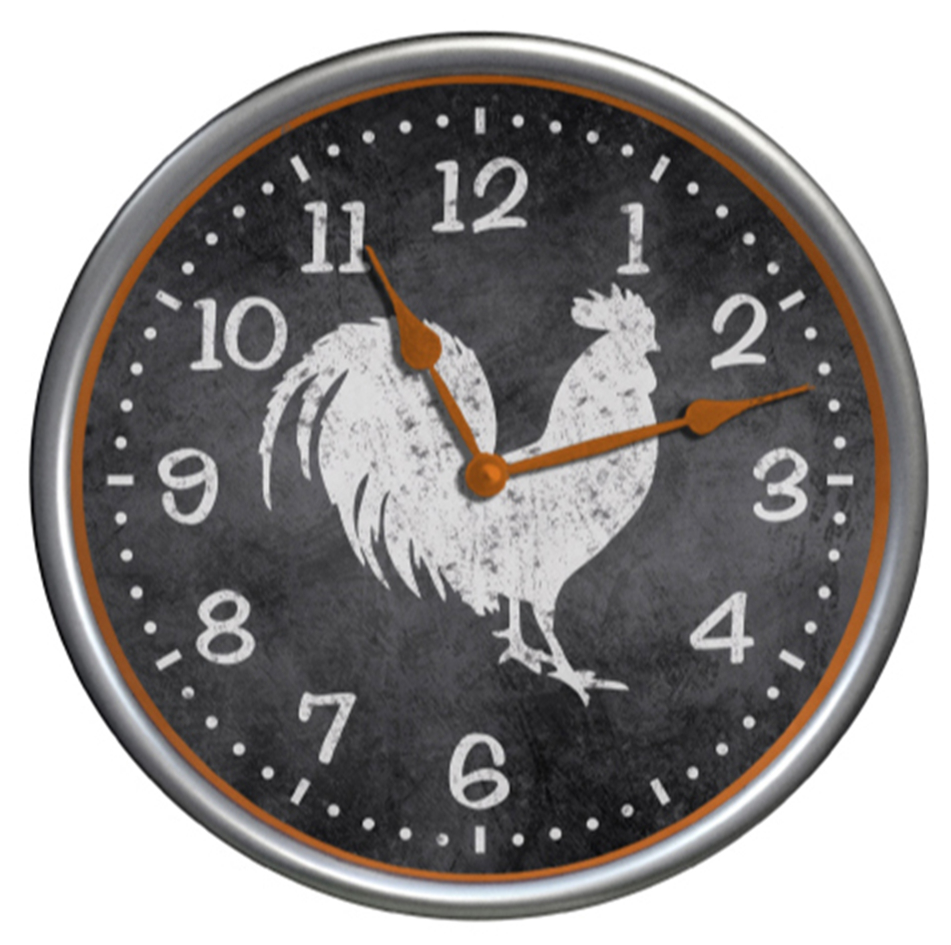 Rooster Wall Clock Round