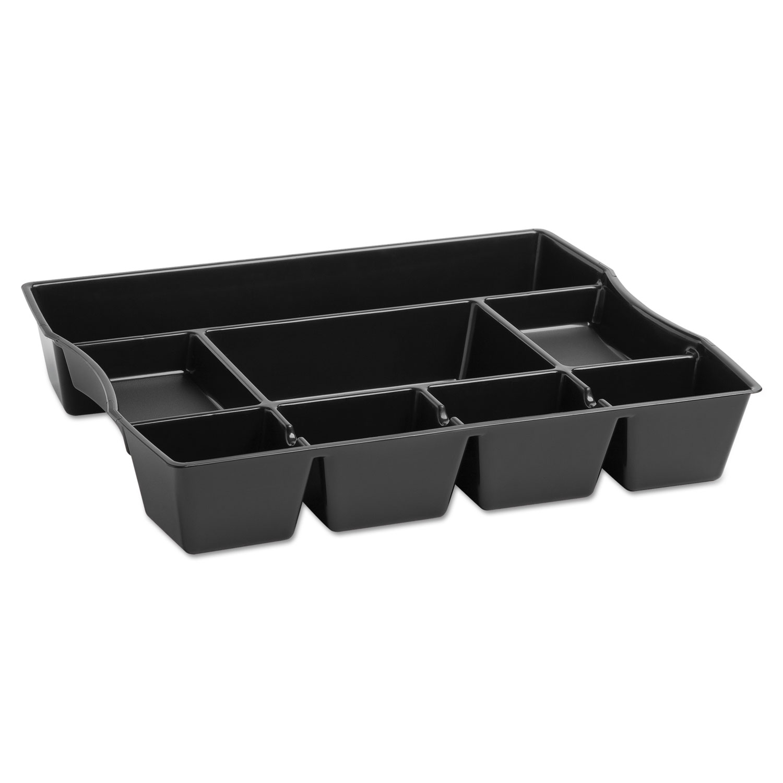 Rubbermaid Rub21864 Nine-compartment Deep Drawer Organizer Plastic 14 7 8 X 11 2 1 Black