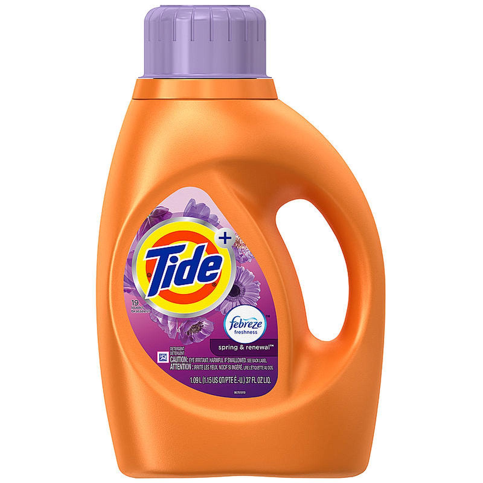 FL Oz Liquid Tide Laundry Detergent Plus 37