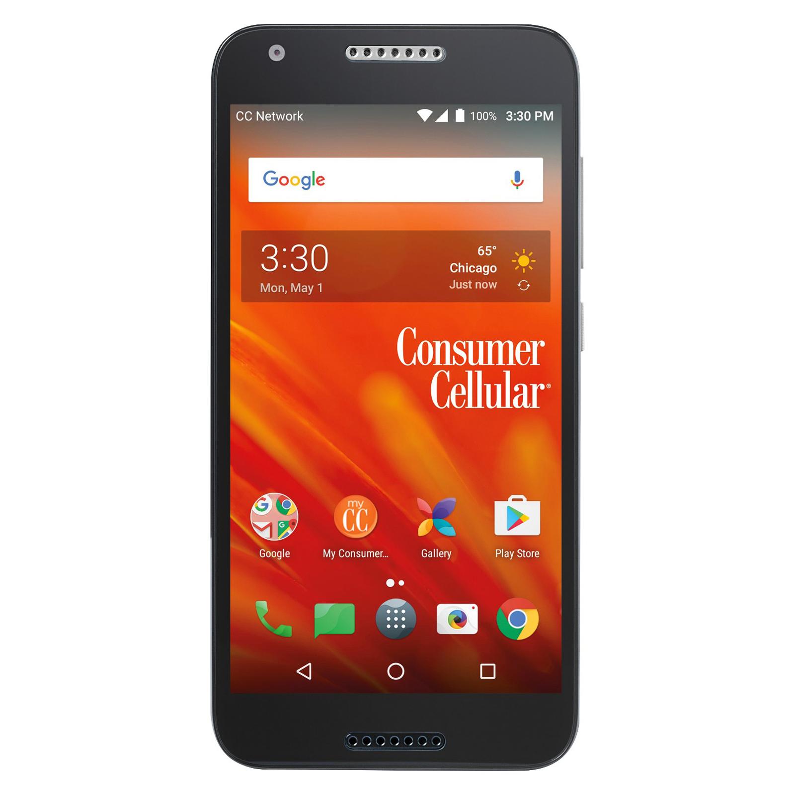 Consumer Cellular Alcatel Kora Smartphone