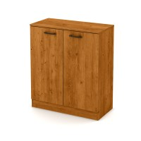 South Shore Axess 2-Door Storage Cabinet, Country Pine ...