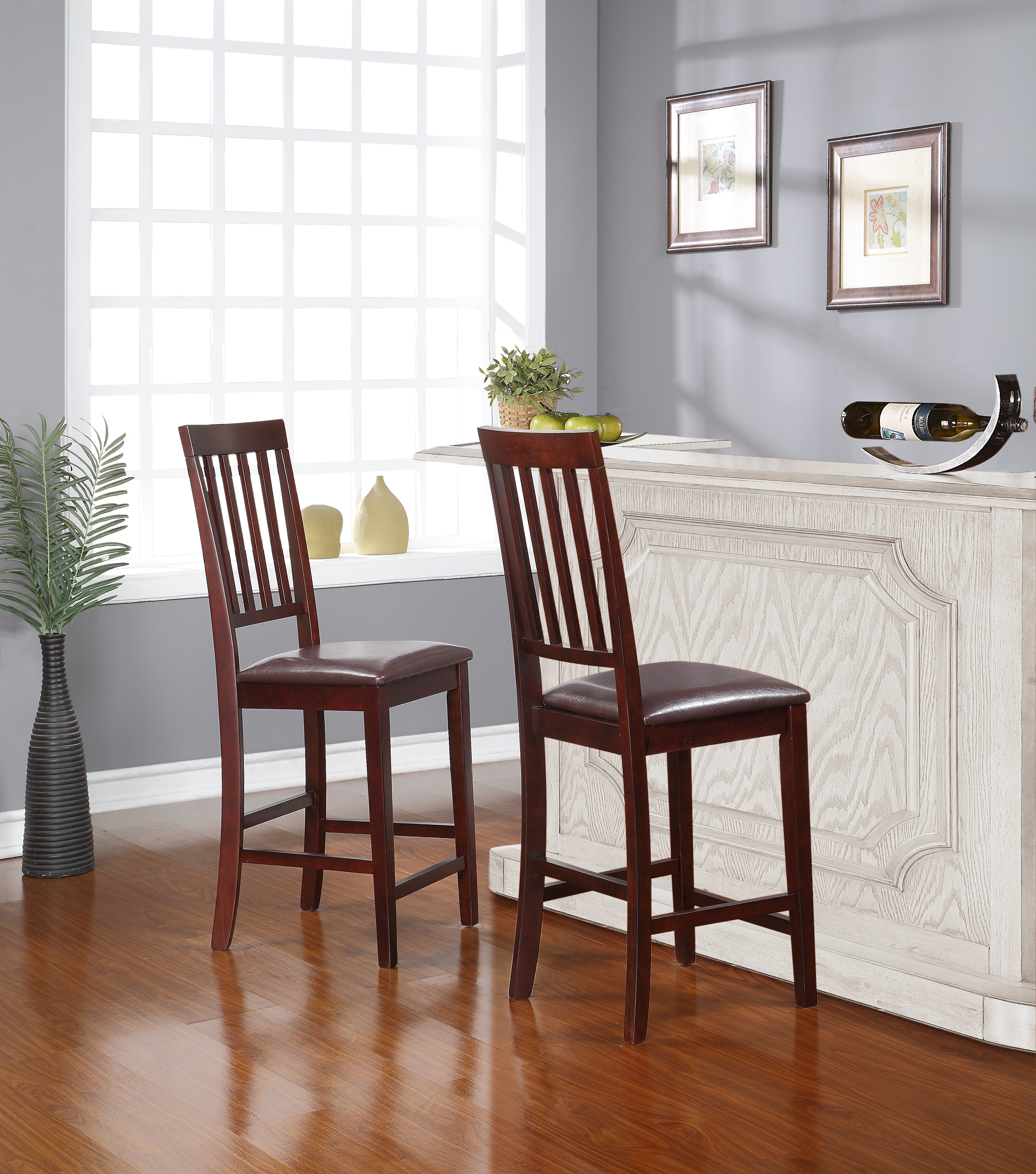 Essential Home Cayman Dining Chairs 2 pack  Home  Furniture  Dining  Kitchen Furniture