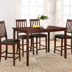 Sears Kitchen Tables Lights For Island Dining Table Sets Essential Home Cayman 5 Piece High Top Set