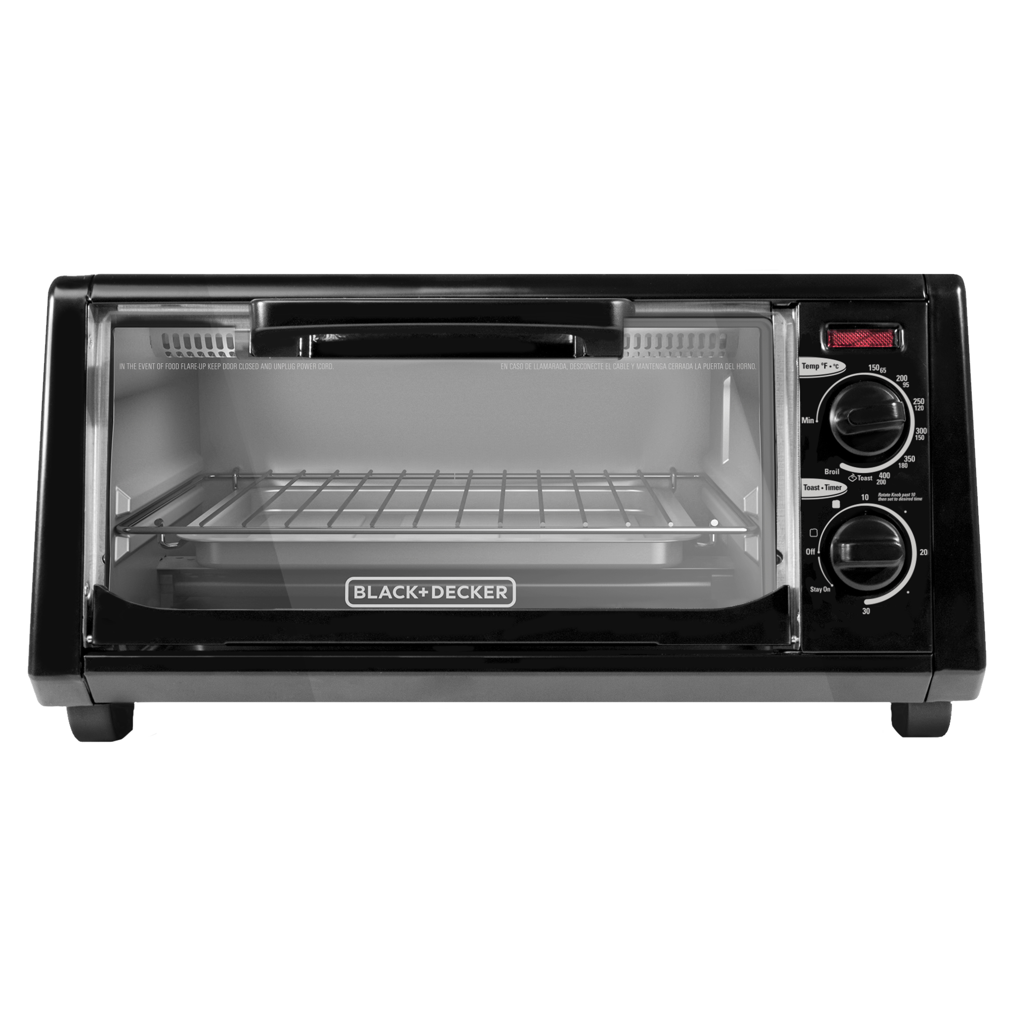 Black Decker To1200b 4 Slice Toaster Oven