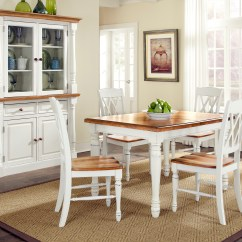 Monarch Double X Back Dining Chairs Sit Up Baby Chair Home Styles Rectangular Table And Four
