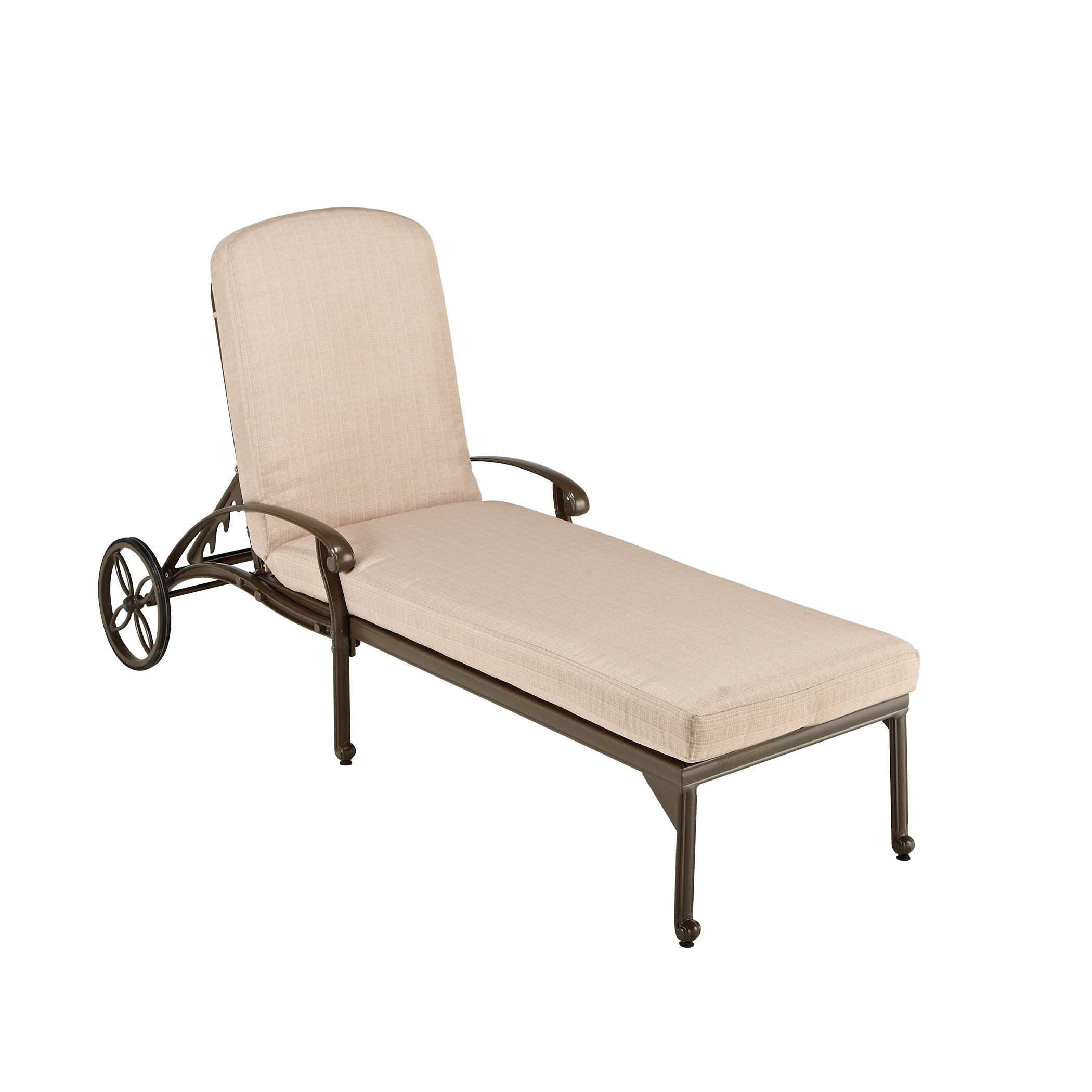 lounge chairs home depot thomas the tank engine desk and chair styles floral blossom taupe chaise