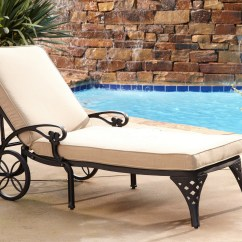 Home Depot Lounge Chairs Upholstered Office Styles Biscayne Bronze Chaise Chair Taupe Cushion