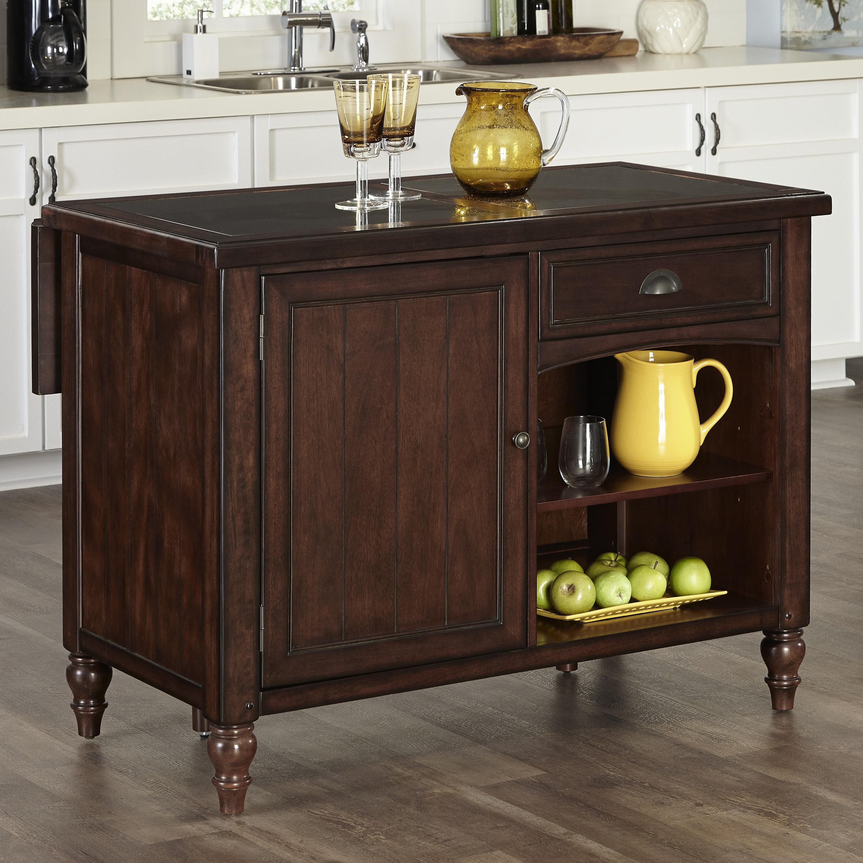 home styles monarch kitchen island brown jordan outdoor kitchens country comfort w granite top