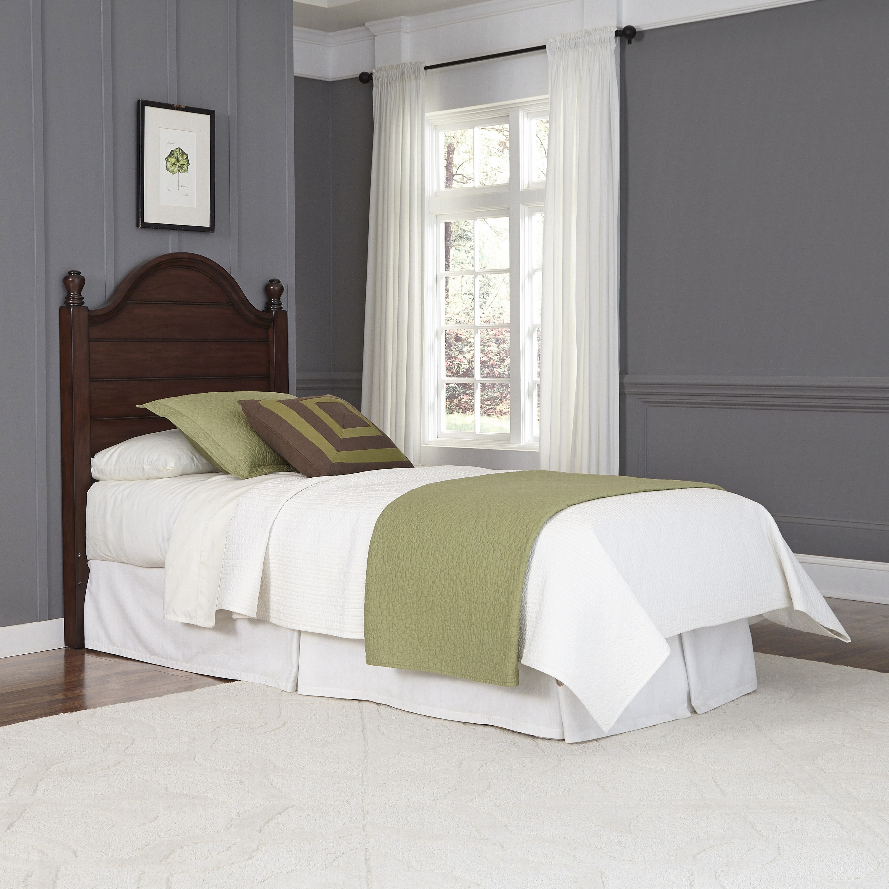 Country Style Headboards for Twin Beds