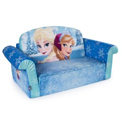 Frozen Flip Sofa Canada Sets With Accent Chairs Marshmallow Fun Co Children S 2 In 1 Open Foam Disney By Spin Master