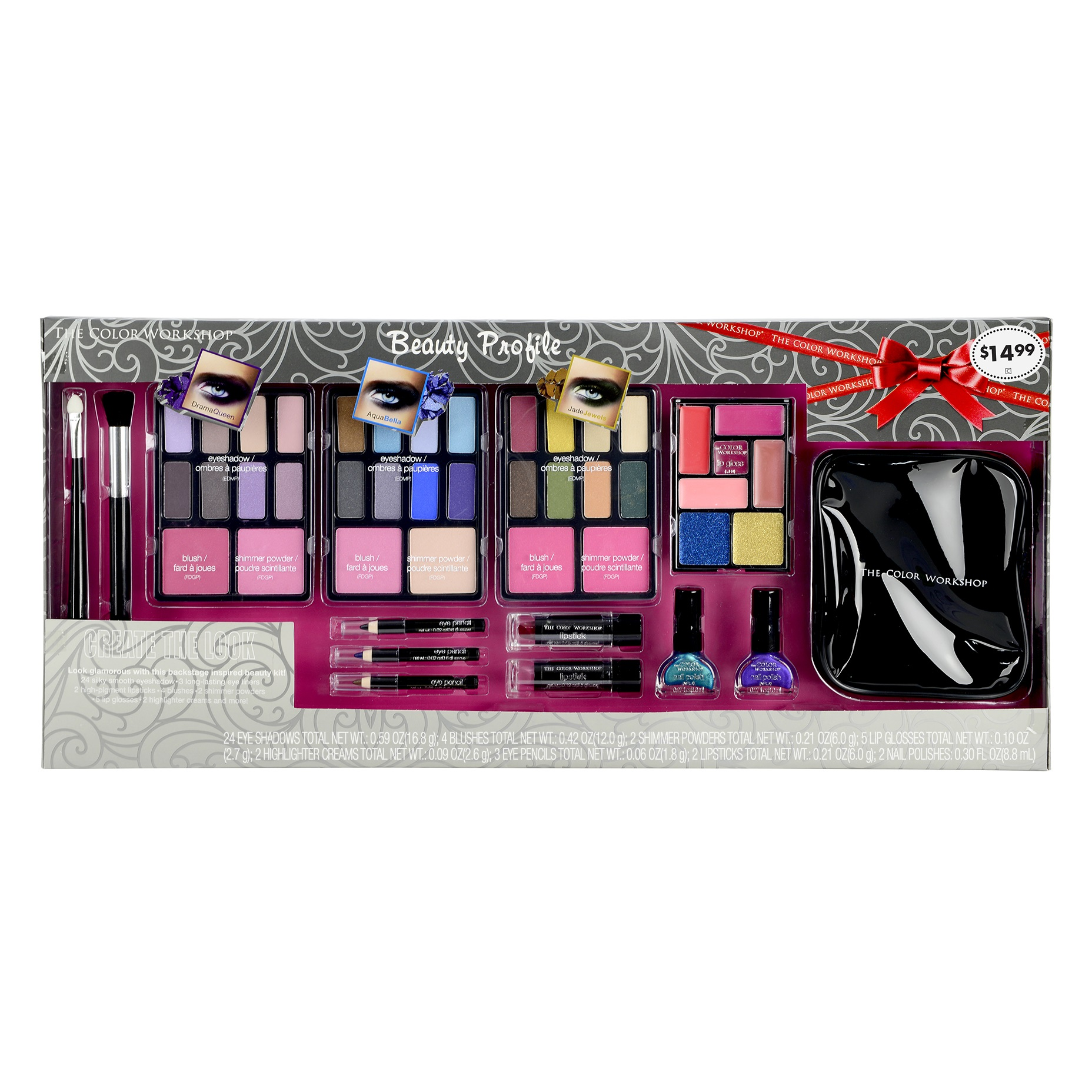 The Color Workshop Beauty Profile Makeup Kit