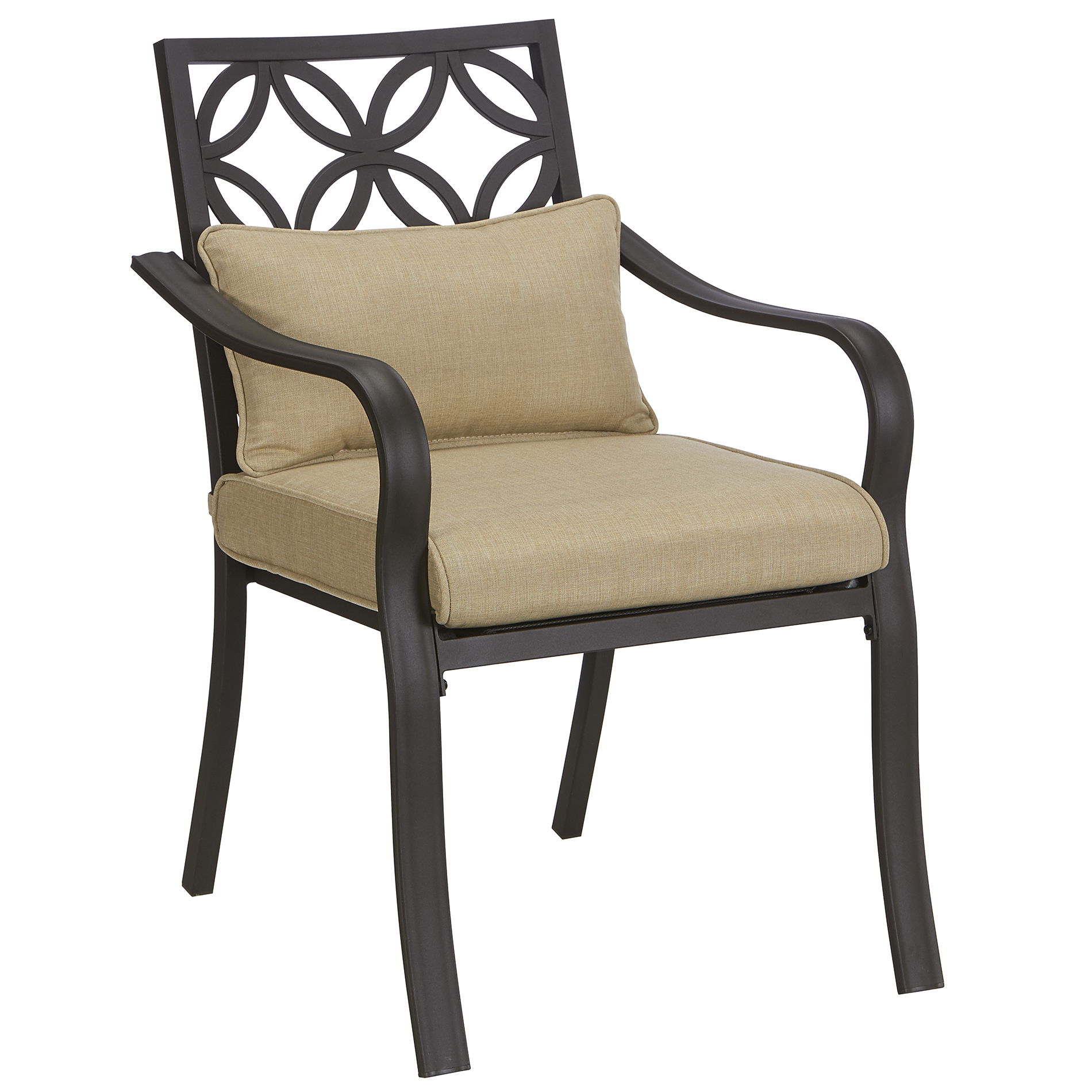 dining chair cushions kmart desk mesh seat jaclyn smith marion 4 cushion chairs neutral