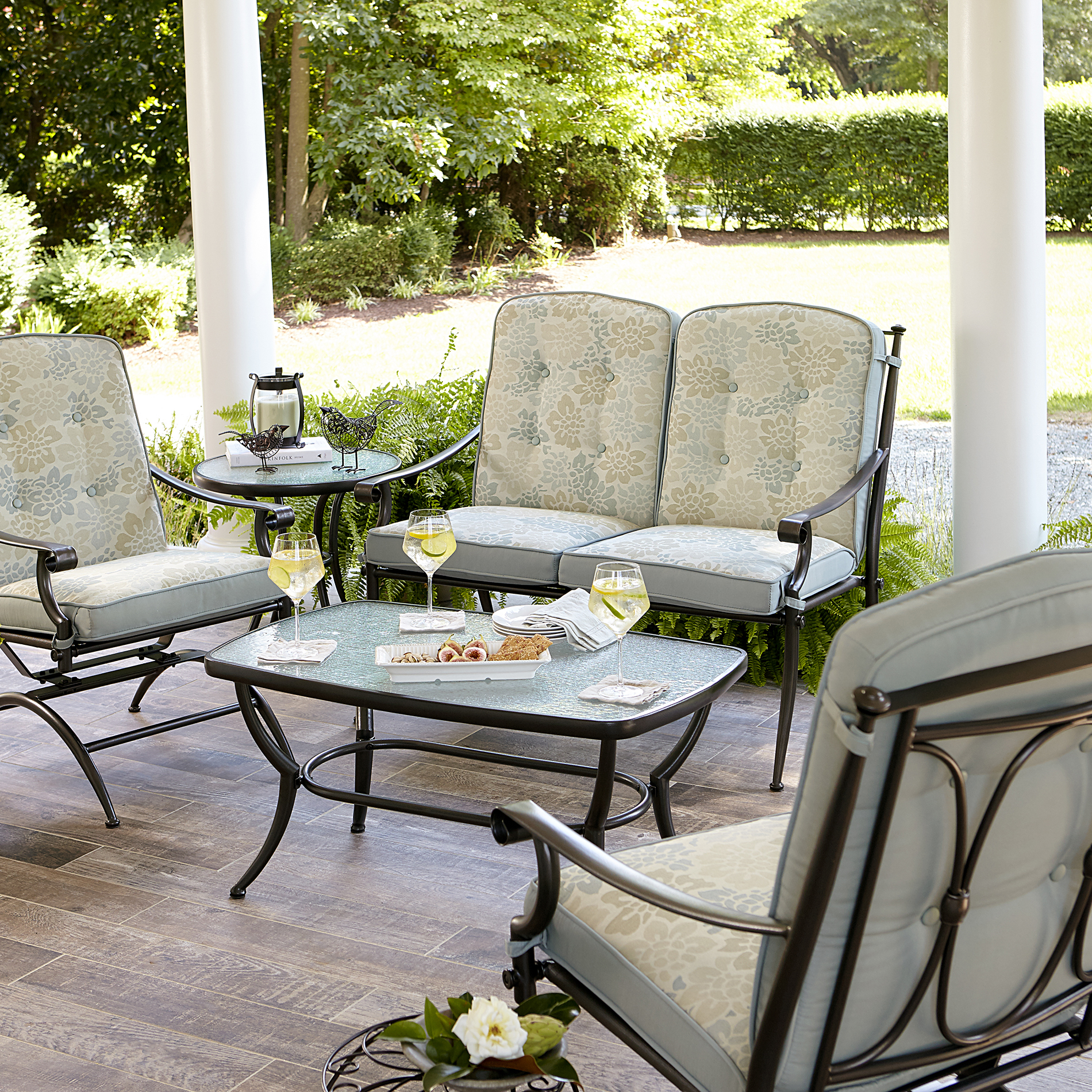 Amelia 4 Piece Seating Set Limited Availability