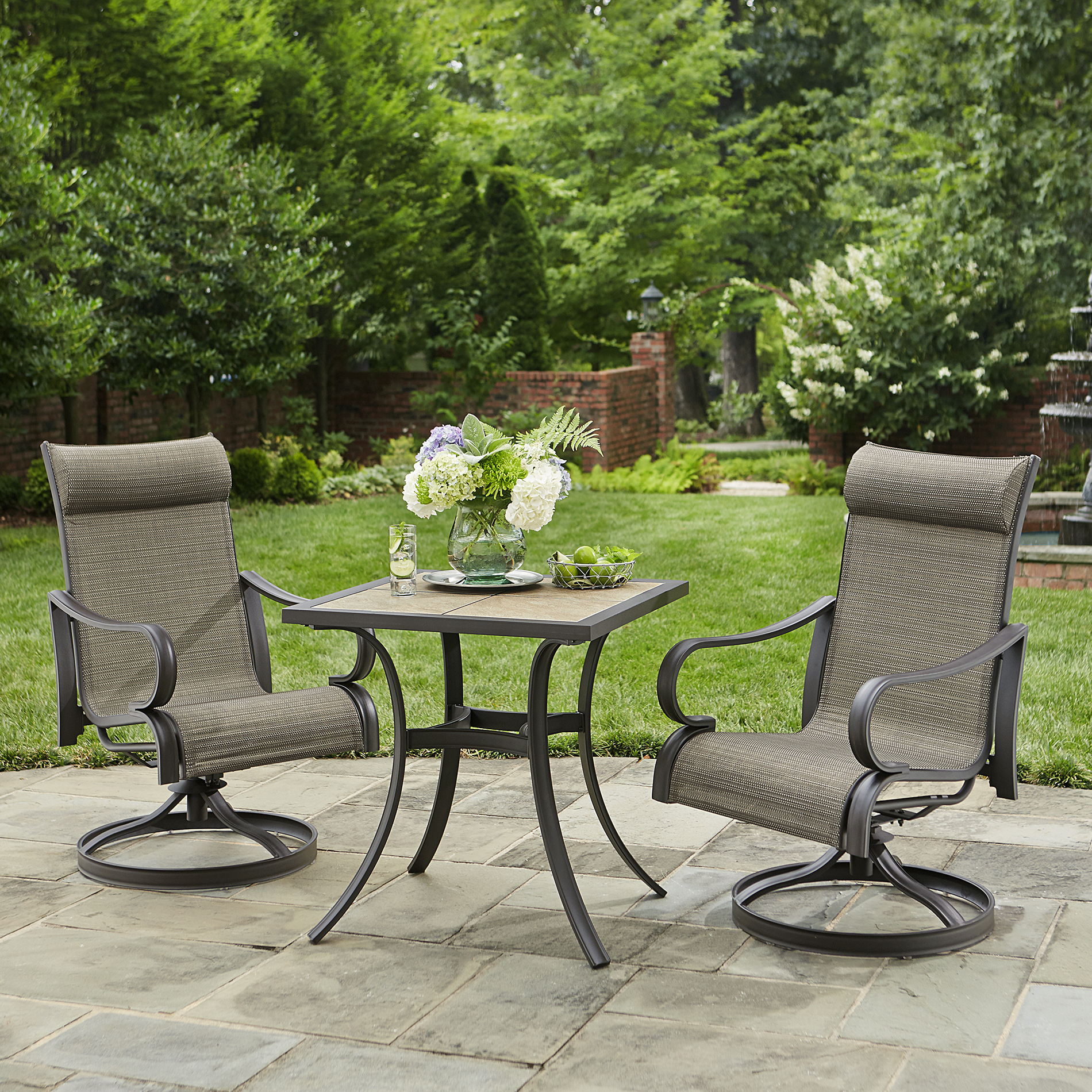 Jaclyn Smith Marion 3pc Bistro Set