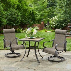 Bistro Table And Chairs Kmart Hammock Chair With Stand Set Jaclyn Smith Marion 3pc Limited Availability