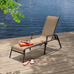 Sun Lounge Chairs Kmart Chair Covers For Weddings Wholesale Essential Garden Fulton Sling Outdoor Living