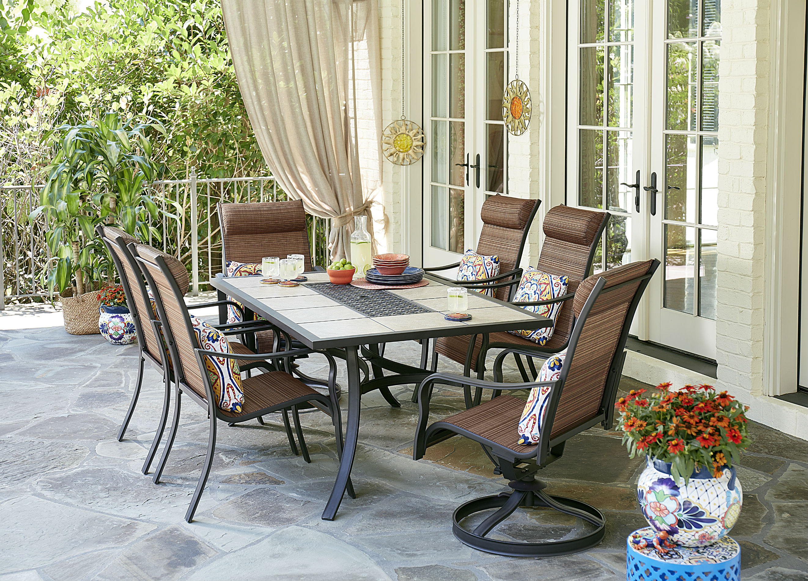 Jaclyn Smith Marion 7-piece Patio Dining Set Limited
