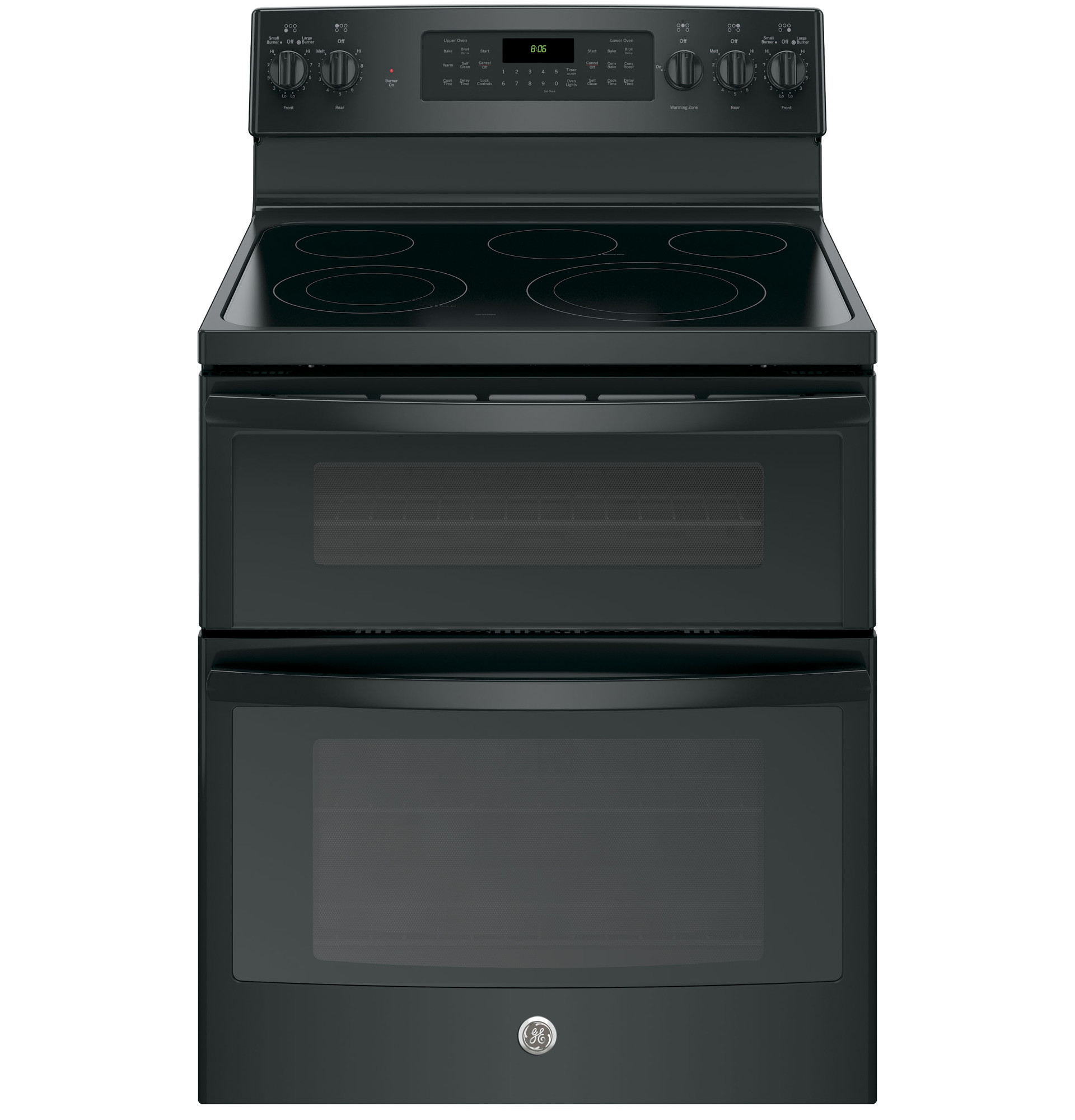 GE Convection Double Oven Electric Range
