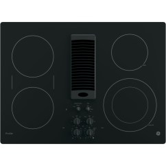 Electric Stove Cardiac Muscle Tissue Diagram Labeled Shop The Best Cooktops Gas Tops At Sears Ge Profile Series Pp9830djbb 30 Downdraft Cooktop Black