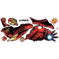 RoomMates Iron Man Peel and Stick Giant Wall Decals with ...