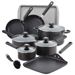Kitchen Cookware Sets French Country Designs Circulon 2 Hard Anodized Nonstick 13 Piece Set