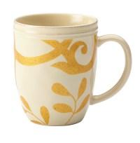 Rachael Ray Dinnerware Gold Scroll 12-Ounce Stoneware ...